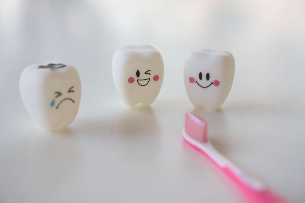 Les stades de la carie dentaire