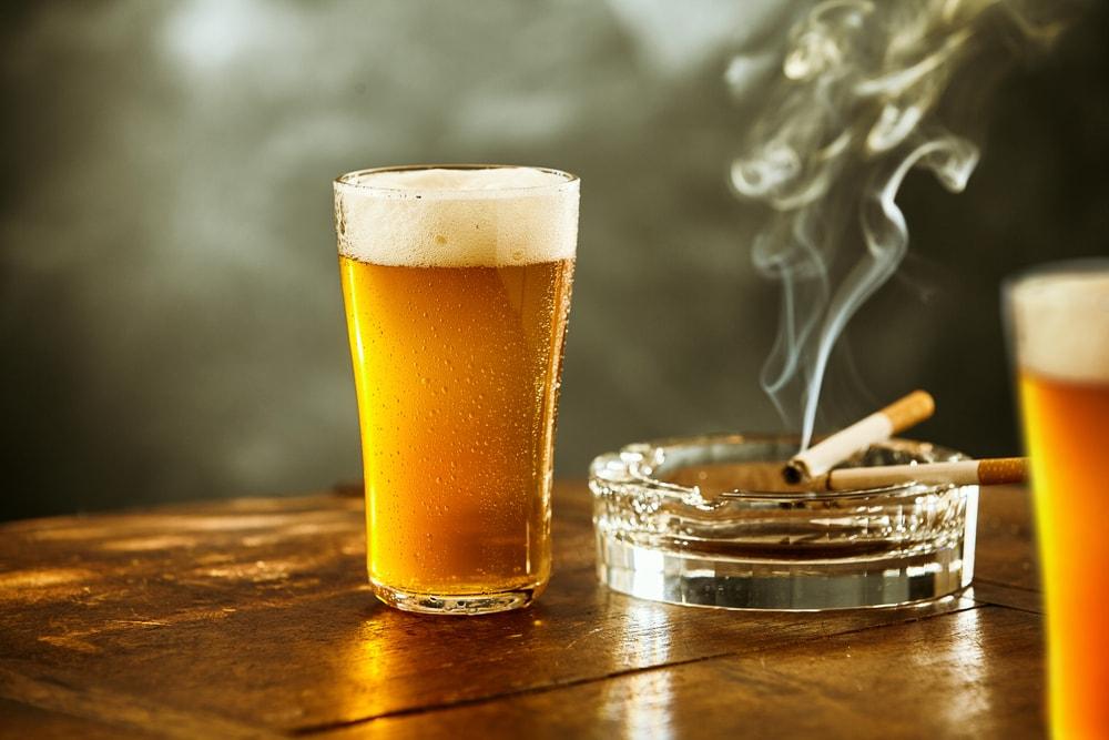 La combinaison alcool et tabac est très nocive