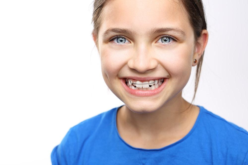 Une consultation en orthodontie pour enfants